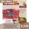 ปลาสลิดแดดเดียว มีไข่ ขนาด L (7-8 ตัวโล)   (Set 5 kg)  แถมฟรี น้ำพริกโจรสลิด 1 กระปุก