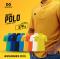 เสื้อโปโลเบสิค เนื้อผ้า Micro Polyester ใส่สบาย ช่วยป้องกันความร้อน