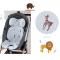 Savanna Savanna รุ่น Hygiene Air / Original Cool Seat เบาะรองรถเข็น เบาะรองคาร์ซีท