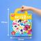 Pinkfong - Sticker Bag สติ้กเกอร์การ์ตูน รูปสัตว์ทะเล ติดแล้วลอกออกได้ ของเล่น สติ้กเกอร์ กระดานสติ้กเกอร์