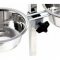 Dog Link Stainless Bowl with Hanger (28 cm)