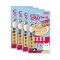 CIAO Cat Snack Churu Tuna Hairball Control 14 g. (4 pcs./Pack ) x 4