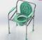 เก้าอี้นั่งถ่าย ปรับสูง-ต่ำได้ พับได้ (Commode Chair)