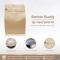 ถุงกระดาษคราฟแบบตั้ง/นอน บรรจุเมล็ดกาแฟ (วาล์วและซิป) 250g.