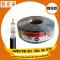 สายRG6 IPM 95% 100ม. สีดำ CCTV