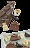 CHOCO06 Pavoni BROWN CHOCO PRALINES: TRENDY