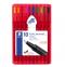 ปากกา Permanent Staedtler Triplus Fineliner 10 สี