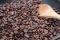 Coffee flavor powder