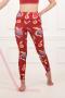 Nadia Red Onion Leggings - Sport Leggings