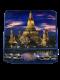 庙宇-蓝色靠垫