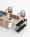 ชุดโต๊ะทำงาน โต๊ะทำงานพนักงาน