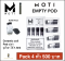 MOTI empty pod Pack 4pcs