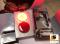 LEOMAX [ดวงไฟกลม ML-1153 แดง] - ดวงไฟสะท้อนแสงทรงกลม พร้อมดวงไฟสำหรับติดตั้ง รุ่น ML-1153 ทับทิมสีแดง ชุด 2 ชิ้น