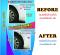 LEOMAX Mud Guard Stylish Eyebrow Type for edge of the car wheel arch. Model KF-1406  2 Pcs/Set (Green)(copy)