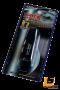 LEOMAX คลิปหนีบบัตร-แว่นตา สำหรับหนีบกับที่บังแดด รุ่น TC-849 พร้อมฟองน้ำสำหรับหนีบไม่ทำให้ขาแว่นเป็นรอย (สีดำใส)