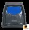 [BUNDLE 2 ชุด] LEOMAX [ถาด PVC HYBRID ดำ-ใยน้ำเงิน หน้า แพค 2 ชิ้น] - ถาดปูพื้นพลาสติก PVC พร้อมใยไวนิล รุ่น LION KING  ด้านหน้า แพค 2 ชิ้น (สีดำ - ใยน้ำเงิน)