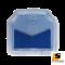 [BUNDLE 2 ชุด] LEOMAX [ถาด PVC HYBRID ฟ้าใส-ใยน้ำเงิน หลัง แพค 2 ชิ้น] - ถาดปูพื้นพลาสติก PVC พร้อมใยไวนิล รุ่น LION KING  ด้านหลัง แพค 2 ชิ้น (สีฟ้าใส - ใยน้ำเงิน)