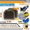 [BUNDLE 2 ชุด] LEOMAX [ถาด PVC HYBRID ดำใส-ใยน้ำตาล หลัง แพค 2 ชิ้น] - ถาดปูพื้นพลาสติก PVC พร้อมใยไวนิล รุ่น LION KING  ด้านหลัง แพค 2 ชิ้น (สีดำใส-ใยน้ำตาล)