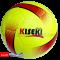 ลูกฟุตบอล ฟุตบอล KISEKI สีเหลืองสะทอนแสง เบอร์5