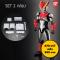 Super move Ultraman 1 - โมเดลมินิแอคชั่นฟิกเกอร์ Ultraman Rosso (2 box set)