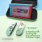 กระเป๋า Hardcase Bag For Nintendo Switch ลาย ใบไม้ Animal Crossing งานดี แข็งแรง