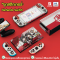 Sticker ติดกันรอยรอบเครื่อง Nintendo Switch แบรนด์แท้ สีสันคมชัดคุณภาพดี ติดครบชุด รวมถึง ขอบจอ และ ขอบ Dock