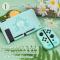 GeekShare™ เคส Nintendo Switch ลาย ANIMAL CROSSING รูปบ้าน สุดน่ารัก