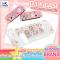 Akitomo™ D.I.Y Case เคสใสTPU นิ่ม +สติกเกอร์สุดน่ารัก DIY เคส Nintendo Switch ในแบบของตัวเอง ไม่ซ้ำใคร