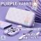 [ขายเป็นเซ็ท CASE+กระเป๋า]  GeekShare™ ชุดเซ็ท PURPLE RABBIT SET เคส กระเป๋า Nintendo Switch คุมโทนหวานๆ สำหรับคนรักสีม่วง
