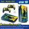 สติกเกอร์ฟิลม์กันรอยรอบตัว เครื่อง PS5 Sticker Protect Screen ลายคมชัด **สำหรับรุ่นใส่แผ่น**