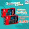 Nintendo Switch รุ่นใหม่ กล่องแดง 2019 : แบตเตอรี่อึด Long Battery (GREY/NEON)