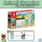 Promotion Nintendo Switch Limited Edition Animal Crossing New Horizon ฟรี เคสรอบตัว + ฟิล์มกันรอย Nintendo Switch