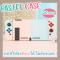 Case Nintendo Switch Pastel Edition เคส งานดี สีสวย ลายพาสเทล *แยกชิ้นได้ *ใส่ลงDock ได้