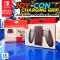 Joy-Con Charging Grip ด้ามจับรวมจอย Nintendo Switch มีช่องเสียบชาร์จจอยได้เลย สินค้า Official แท้