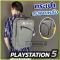 กระเป๋าใส่เครื่อง PS5 เป้ แบบสะพายหลัง แข็งแรง ทนทาน เก็บของได้ทั้งชุด PS5 Bag
