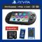 PSVITA 2000 + 32 GB : CFW. V.3.68 + PKGJ สโตร์ในตัวโหลดเกมฟรี  ฟรี! กระเป๋า Airform