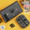 CASE กันรอยรอบตัว Nintendo Switch เคส 3 ชิ้น กรอบสวม ลายมาใหม่ สีเทาดำลายเท่สุดๆ คุณภาพดี ดีไซน์ไม่ซ้ำใคร