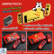เคสแยกชิ้น GameTech For Nintendo Switch มี 4 ลายให้เลือก *ใส่ลงDock ได้ *ขอบยางTPUไม่ขูดเครื่อง