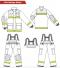 ชุดดับเพลิง FIRE199 มาตฐาน EN469