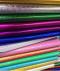 กระดาษเรนโบว์แผ่นใหญ่ (บรรจุ 100 แผ่น)