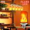 LED Flame light 5w Warmwhite E27 หลอดแอลอีดี ให้แสงเสมือนเปลวไฟจริง ขนาด 5 วัตต์ ขั้วE27 ติดไฟหัวเสา ริมรั้ว ริมกำแพง