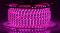 LED Strips SMD 5050 Tint 6W/M IP65 Pink 220V 50M