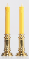 LED Candlestick  Yellow Warmwhite with Remote