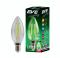 LED Filament Color Candle 4w  Green E14