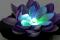 LED Solar cell ECO Lotus 4 floor auto RGB