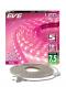 LED Strips Waterproof flexible 7.5W Pink 5M