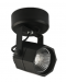LED Tracklight Surface Mounted Octagon Black 8W Warmwhite