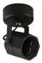 Tracklight Surface Mounted Octagon/Black for MR16 GU5.3