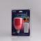 LED Light & Music Red E27
