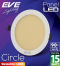 LED Panel Circle 15w Warmwhite